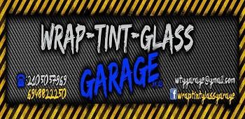 Wrap Tint Glass Garage